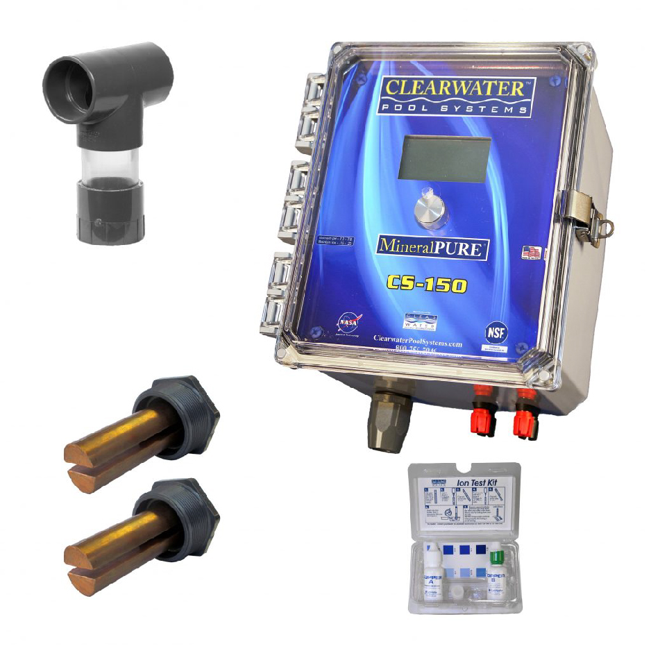 Copper silver ionizer commercial eureka pools sdn bhd for Copper silver ionization system swimming pool
